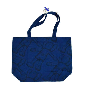 "KAWS X Uniqlo ""Holiday all over Companion Print "" Tote Bag"