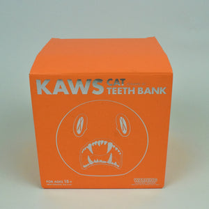 "KAWS ""Cat Teeth"" Bank"