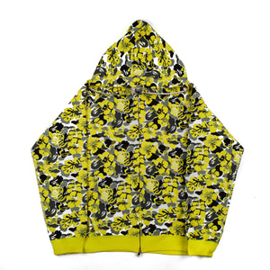 "A Bathing Ape ""Yellow Resort Camo"" Full-Zip Hoodie"