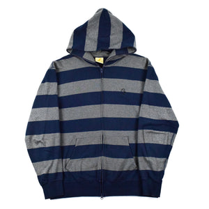 "Billionaire Boys Club ""Striped"" Full-Zip Hoodie"