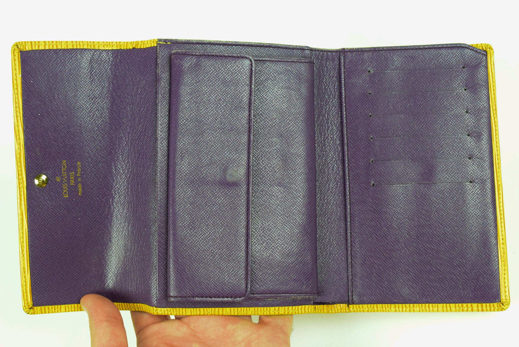 "Louis Vuitton ""Epi Leather"" Wallet"