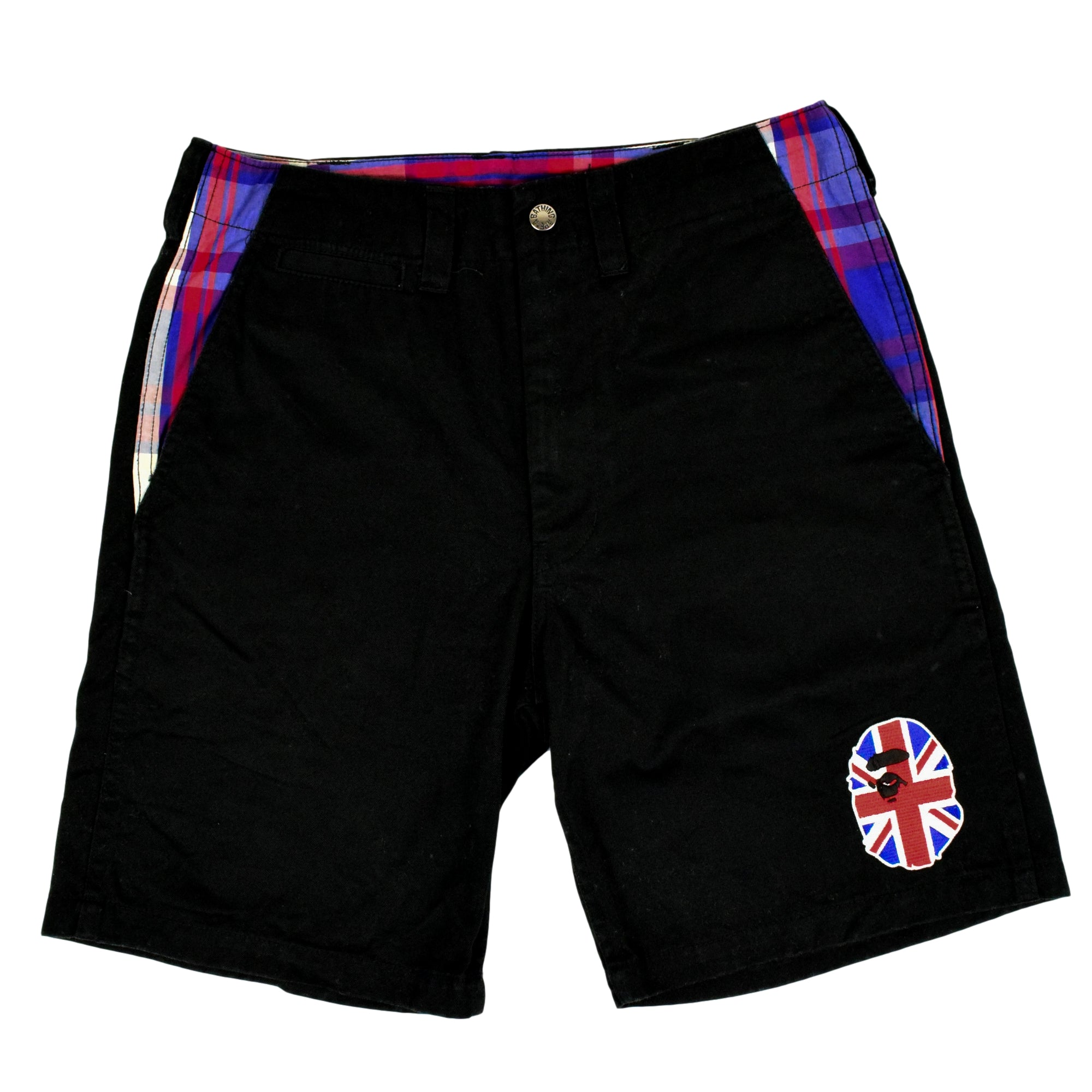 "A Bathing Ape ""UK Ape Head"" Chino Shorts"