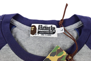 "A Bathing Ape ""Cyber Ape"" 3/4 T-Shirt"