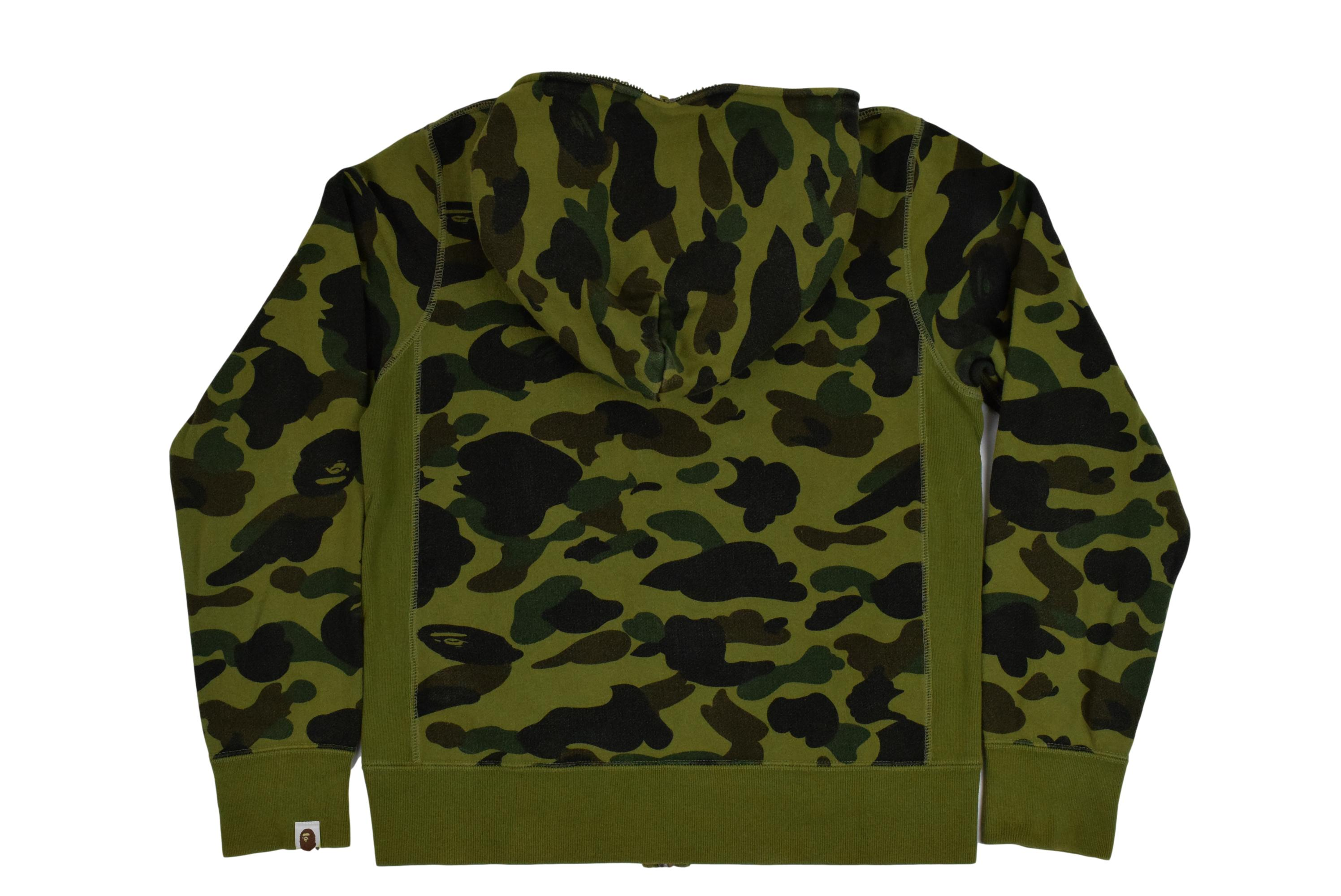 "A Bathing Ape ""Spellout"" Full-Zip Sweatshirt"