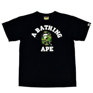 "A Bathing Ape ""College Logo""  T-Shirt"