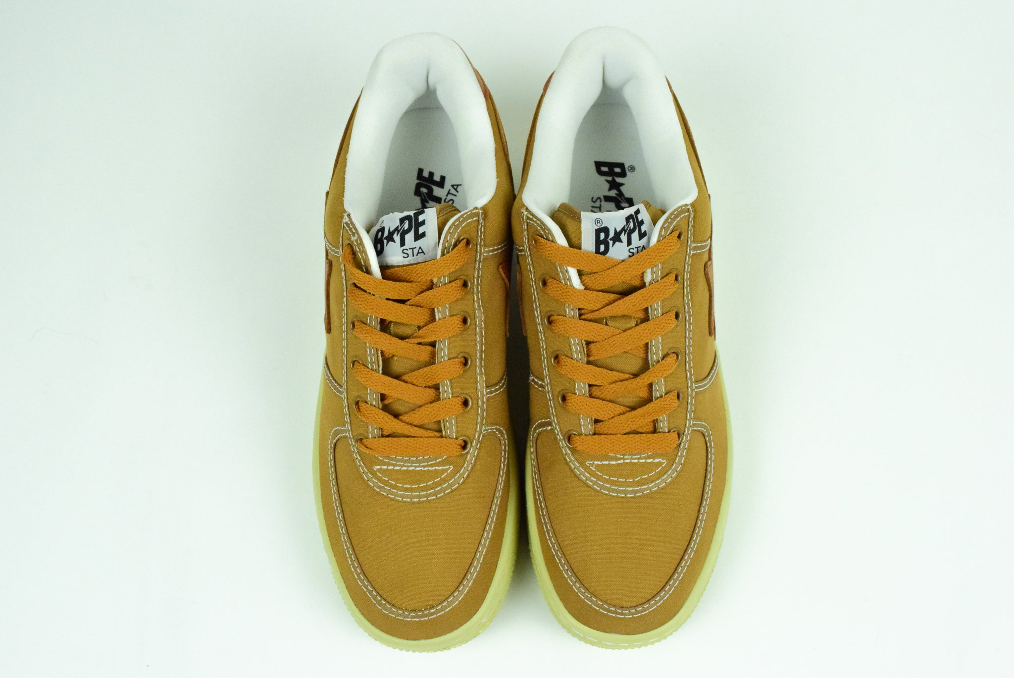 "A Bathing Ape ""Canvas"" Bapesta"