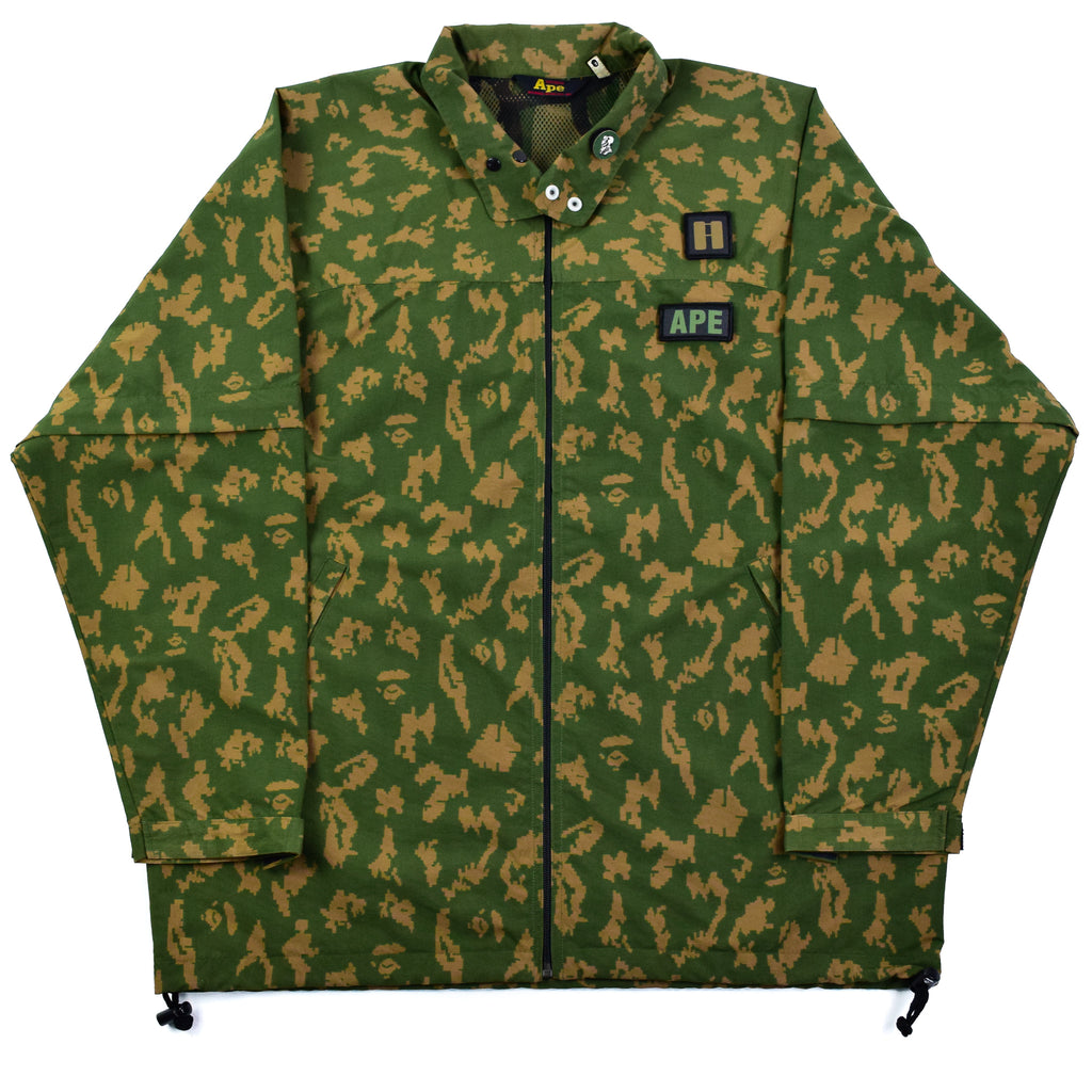 "A Bathing Ape ""Digi Camo"" Convertible Jacket"