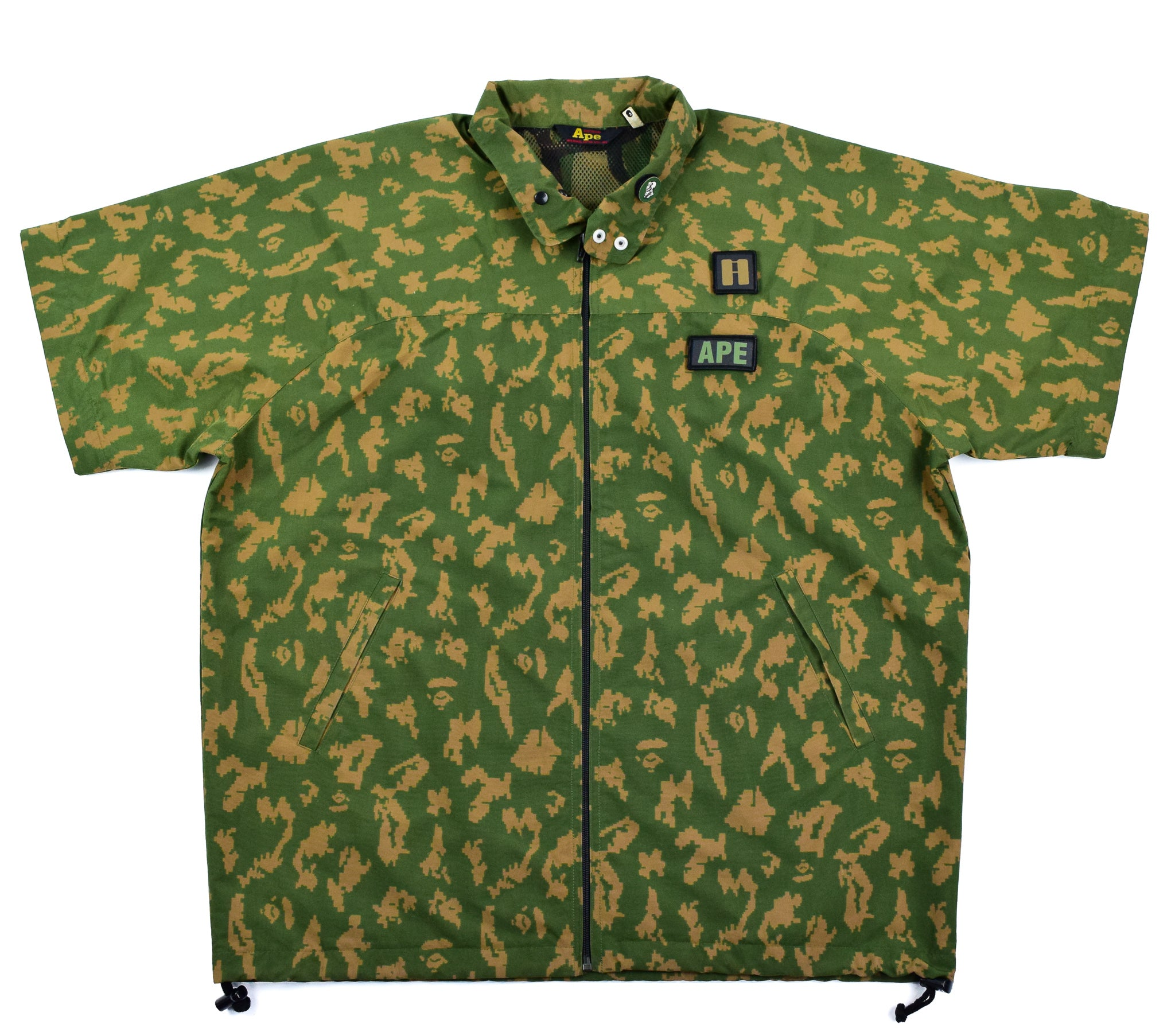 A Bathing Ape Digi Camo Jacket