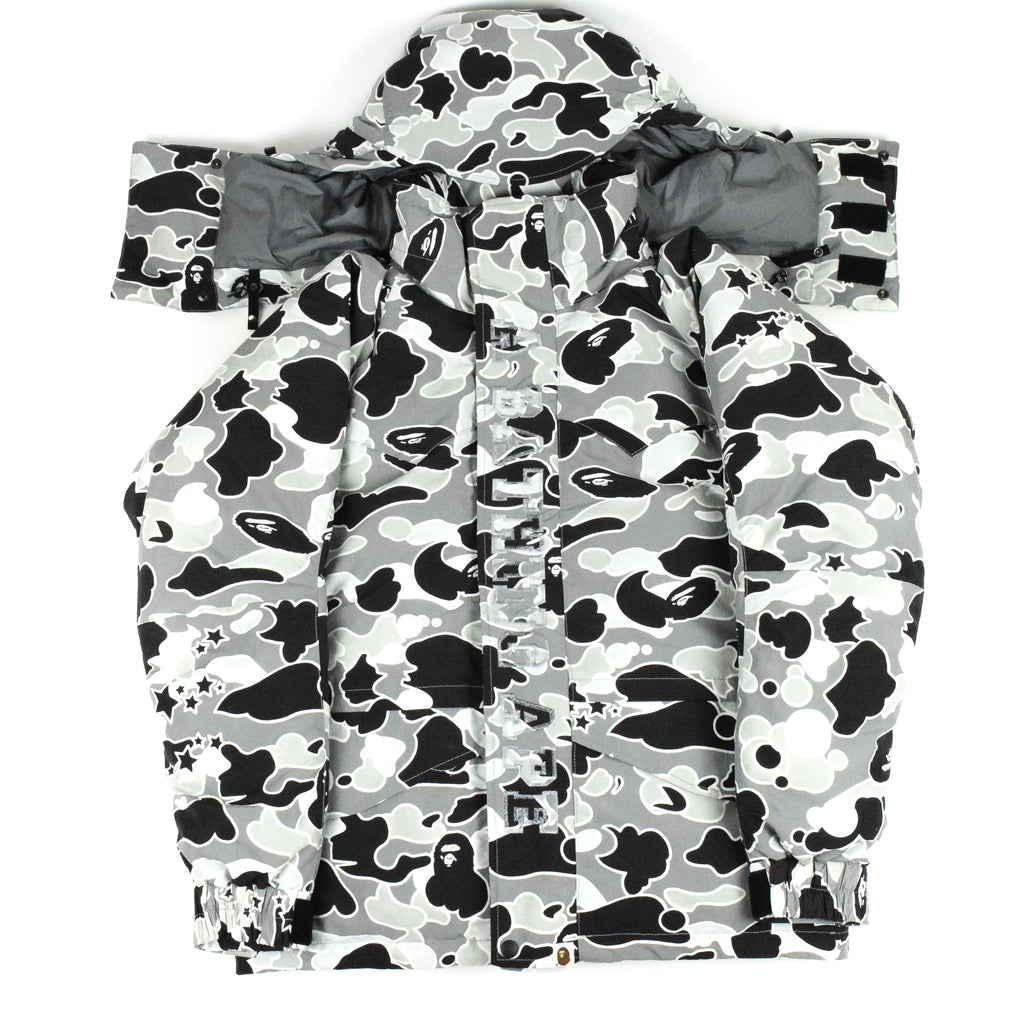 "A Bathing Ape ""Psyche Camo"" Down Jacket"