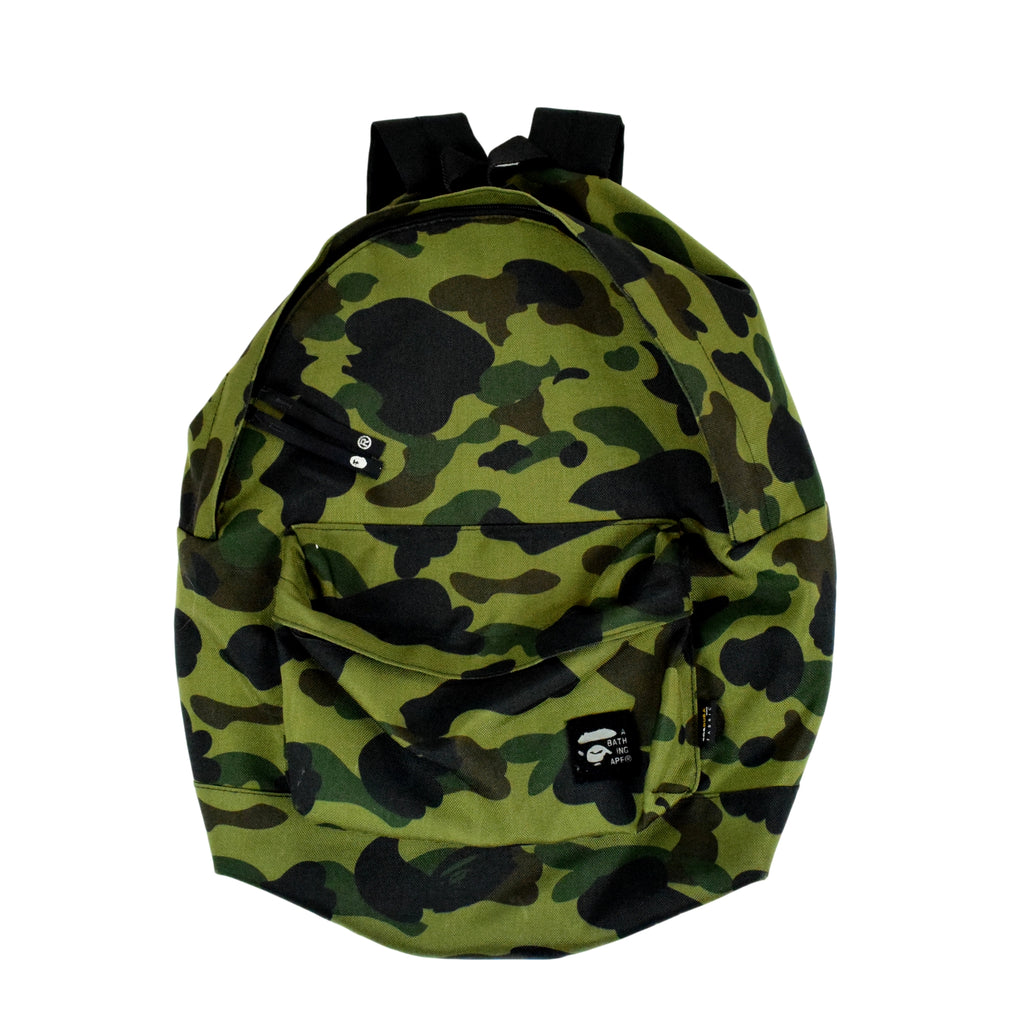 "A Bathing Ape ""First Camo Cordura"" Backpack"