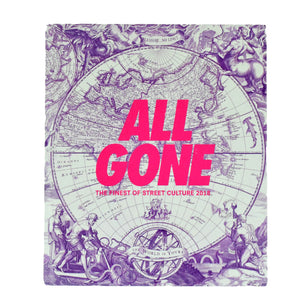 "All Gone 2018 ""The Finest of Streetwear"" Hardcover Coffee Table Book 1/1000"