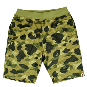 "A Bathing Ape ""Camo"" Basketball Shorts"