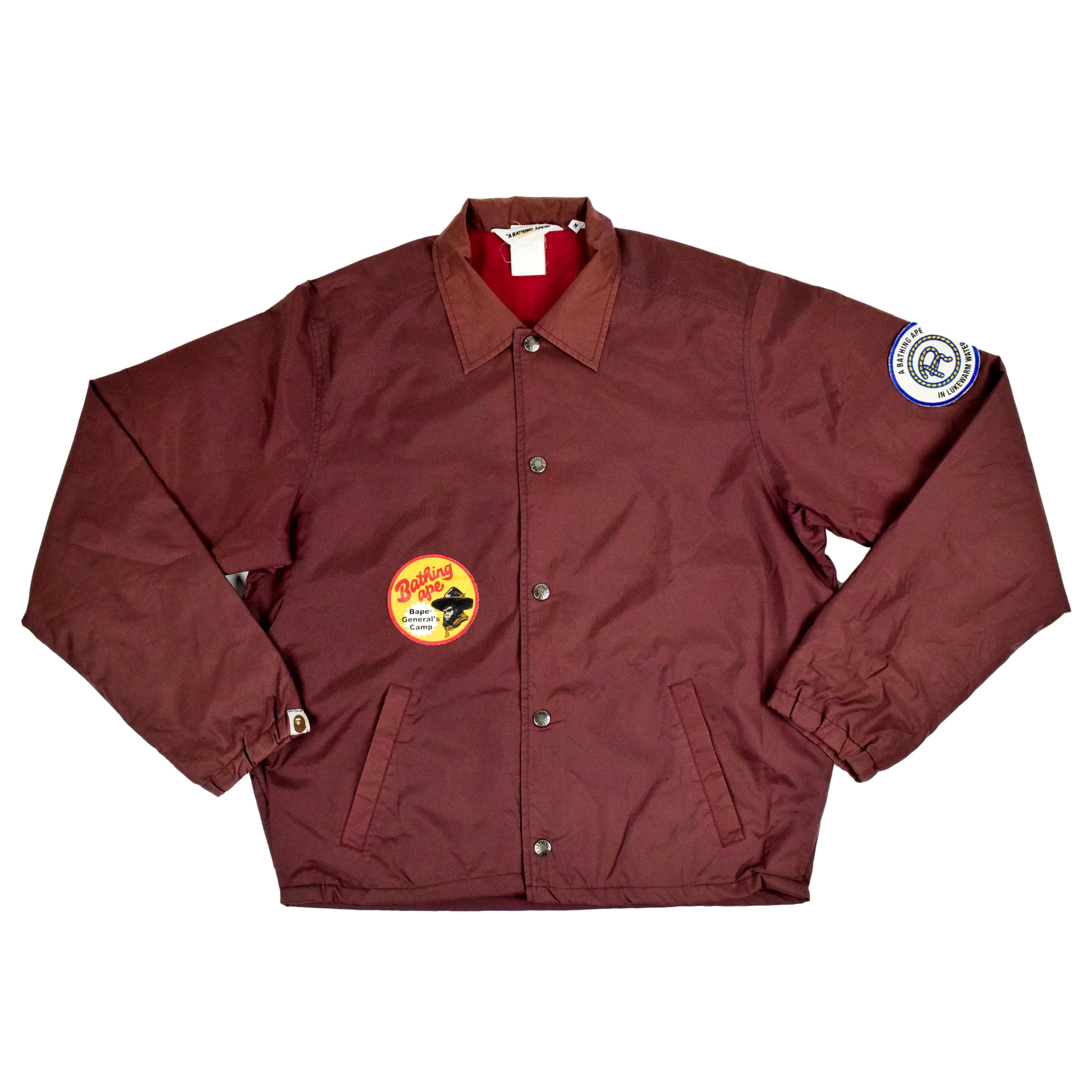 "A Bathing Ape ""General Camp Patch"" Light Jacket"