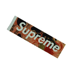 "Supreme X Andres Serrano ""Blood & Semen"" Box Logo Sticker"
