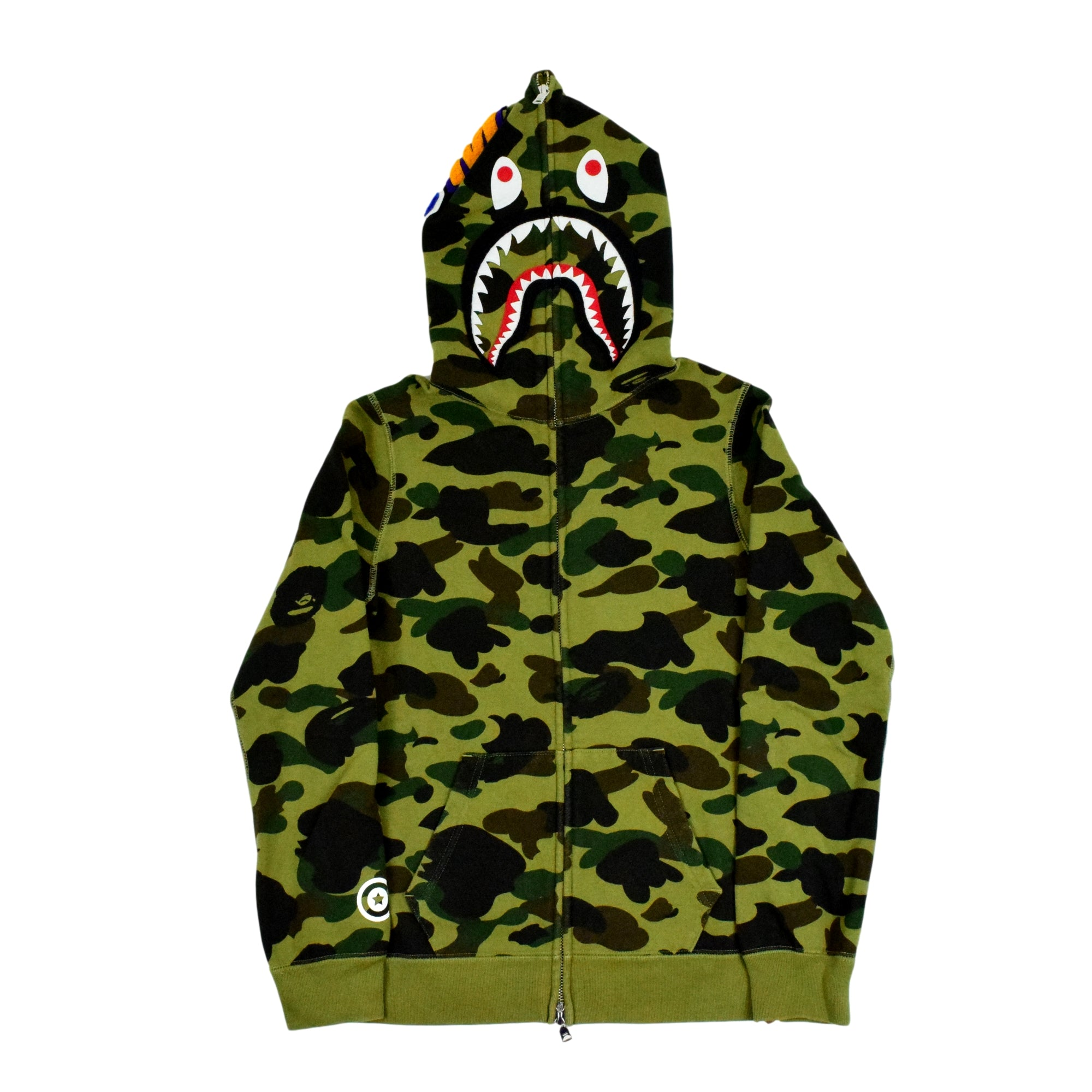 A Bathing Ape Shark Full-Zip Sweatshirt (Women's)