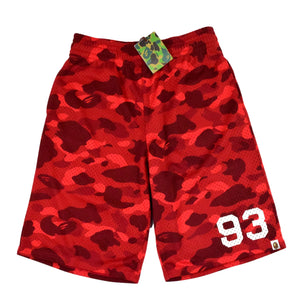 "A Bathing Ape ""93"" Basketball Shorts"