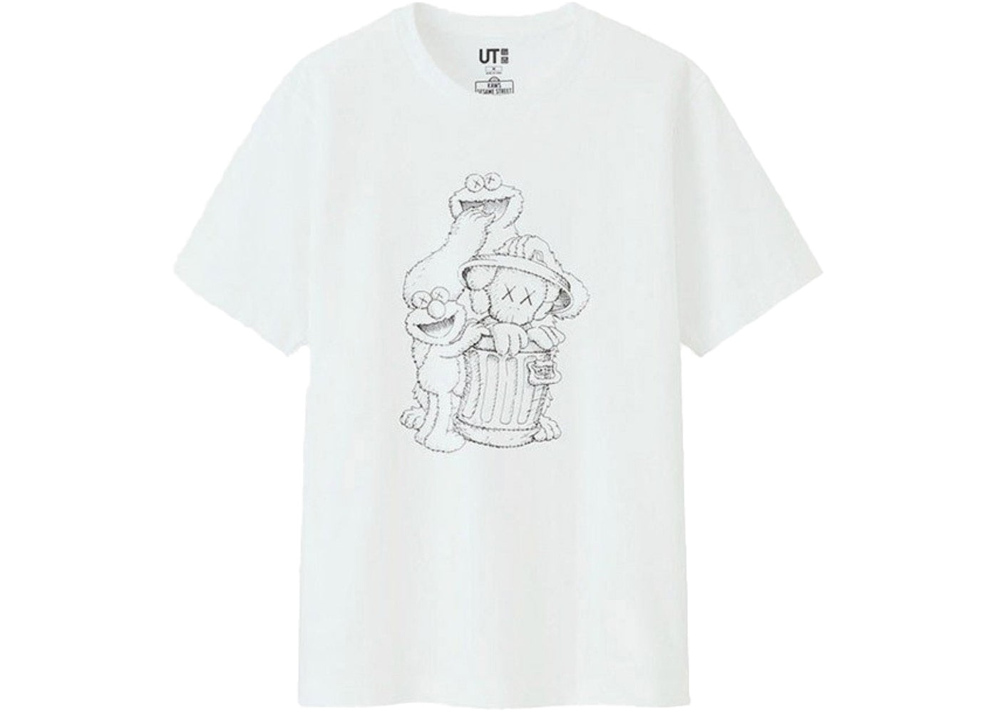 "KAWS X Uniqlo ""Trash Can"" T-Shirt"