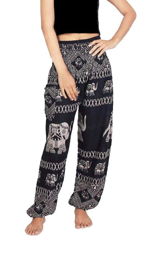 Elephant Shirt Store Pants Lay Chang X Black Elephant Pants