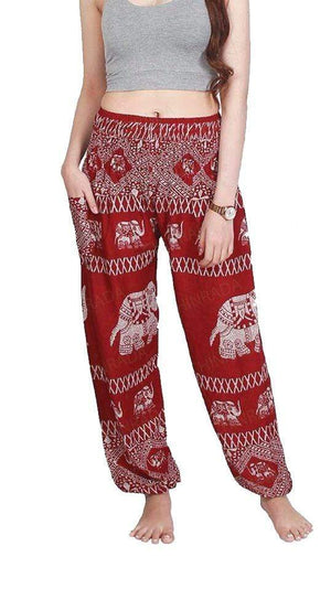 Elephant Shirt Store Pants Lay Chang X Red Elephant Pants