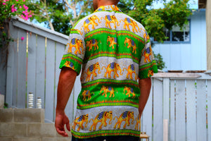 Elephant Shirt Store Shirt 2XL Ngachang Shirt - Green