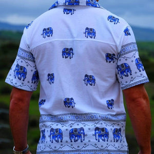 Elephant Shirt Store Shirt Original Elephant Shirt - Blue