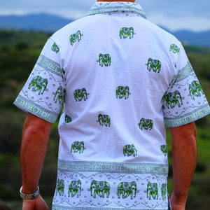 Elephant Shirt Store Shirt Original Elephant Shirt - Green