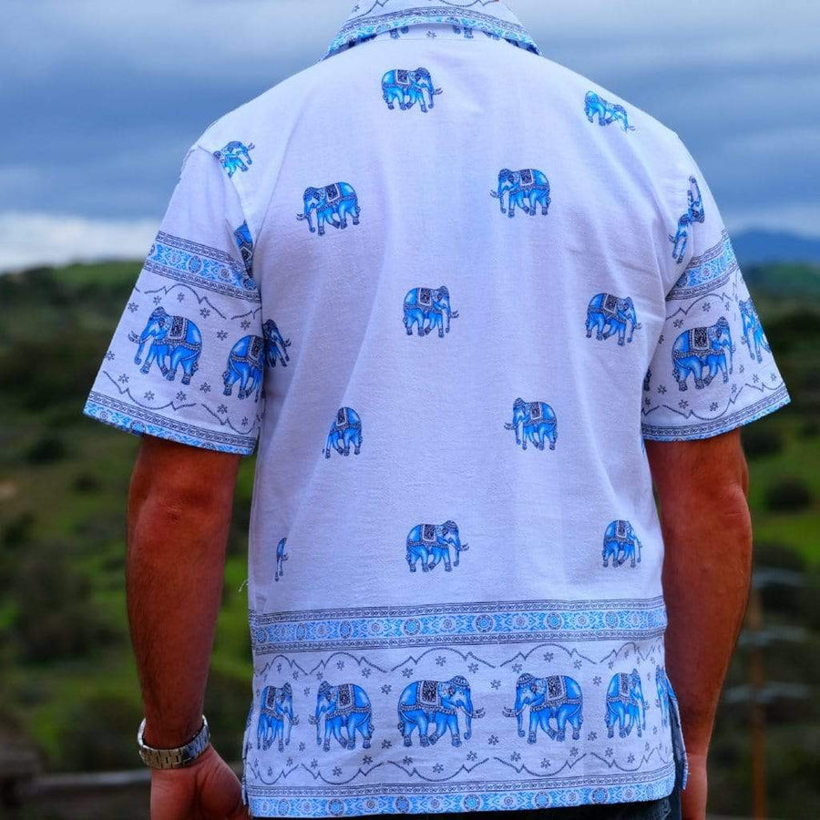 Elephant Shirt Store Shirt Original Elephant Shirt - Sky Blue