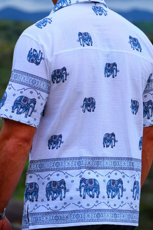 Elephant Shirt Store Shirt Original Elephant Shirt - Steel Blue
