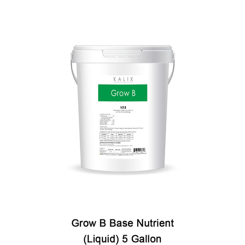 KALIX Grow B Base Nutrient (Liquid) 5 Gallon