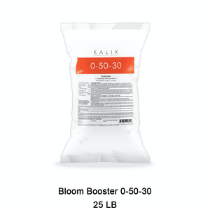 KALIX Bloom Booster 0-50-30 + Chelated Micronutrients 25 lb