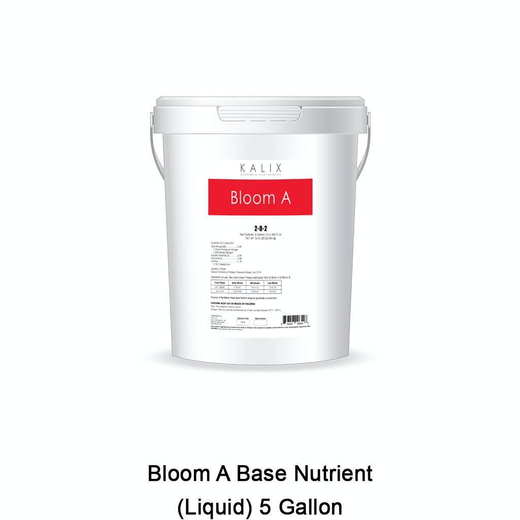 KALIX Bloom A Base Nutrient (Liquid) 5 Gallon
