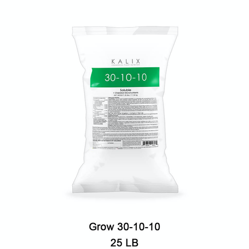 KALIX Grow 30-10-10 + Chelated Micronutrients 25 lb