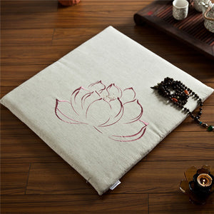Japanese Lotus Floor Cushion