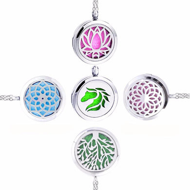 Aromatherapy Oil Diffusing Necklace