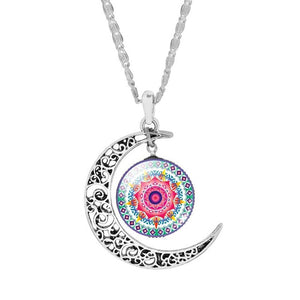 Moon Mandala Necklace