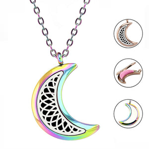 Lady Luna Oil Diffusing Pendant Necklace