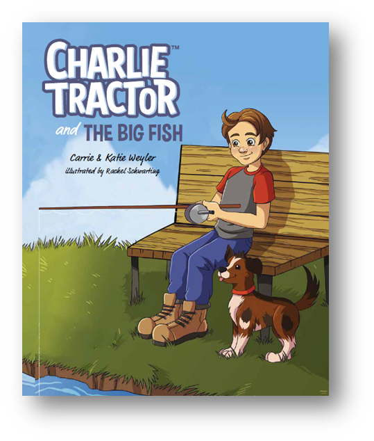 CHARLIE TRACTOR and the BIG FISH