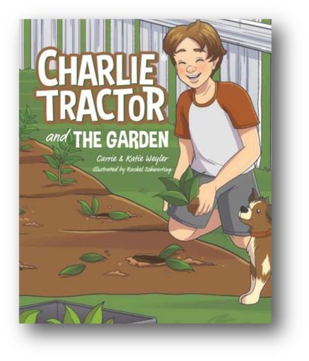 CHARLIE TRACTOR and the GARDEN