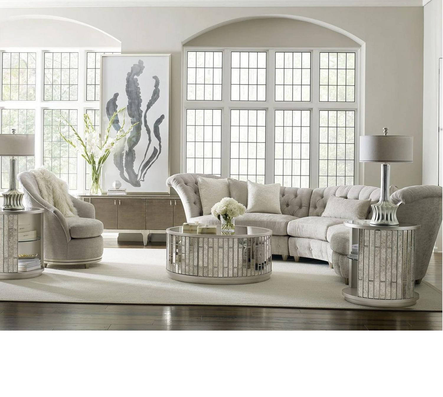 Mirrored Furniture- Grayson Home