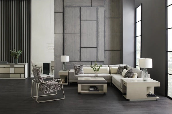 Caracole Repetition Raf Loveseat Sectional