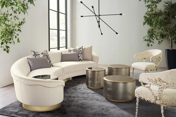 Caracole Upholstery Grand Opening Sectional Sofa Left + Right Set