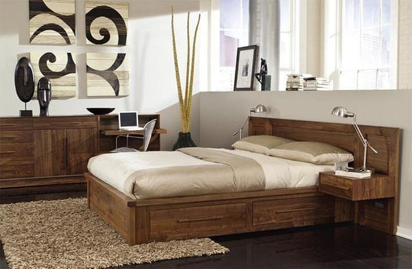 Copeland Moduluxe Storage Bed with Clapboard Headboard