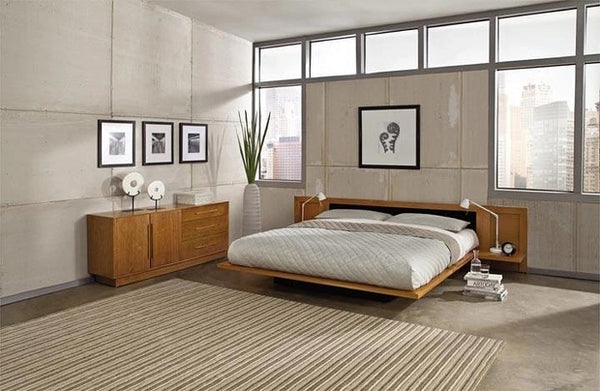 Copeland Moduluxe Storage Bed with Upholstery Headboard (Cal King)