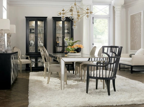 Hooker Furniture Dining Room Sanctuary Diay Cabinet Blanc