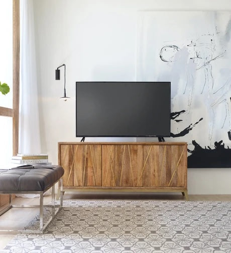 Hooker Furniture Home Entertainment Console 64In Black