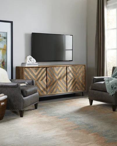 Hooker Furniture Home Entertainment Serramonte 69in Accent Console
