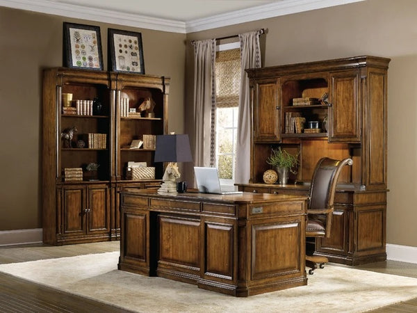 Hooker Furniture Home Office Tynecastle Bunching Bookcase
