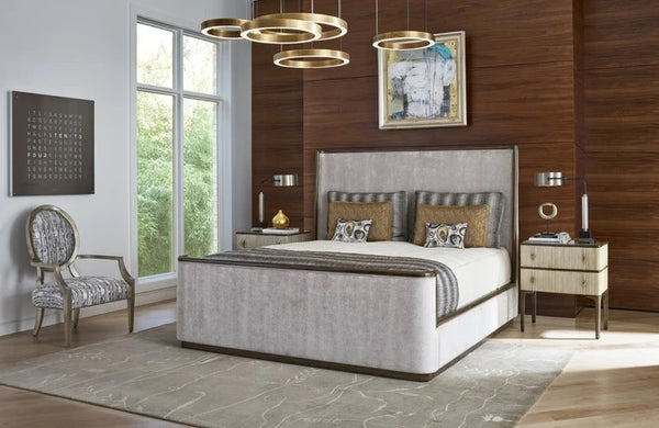 Marge Carson Maison Panel Bed