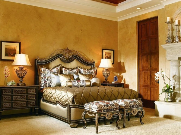 Marge Carson Trianon Court Panel Bed TRC11