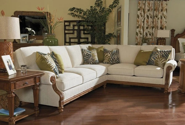 Tommy Bahama Home Island Estate West Shore Sectional